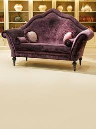 purple velvet chair foter