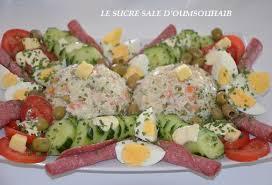 cuisine salade salade de riz thon macédoine le sucré salé d oum souhaib