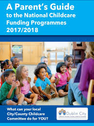 Seeking Parents Guide Dublin City Childcare Committee Childcare Childcare In
