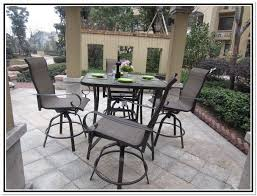 high top patio table and chairs high top patio furniture set home site