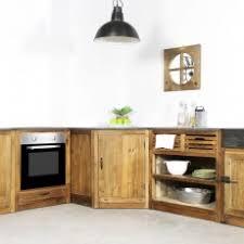 cuisine bois cuisine bois massif vintage et rétro made in meubles