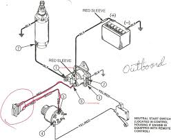 1998 evinrude ignition switch wiring diagram omc ignition switch