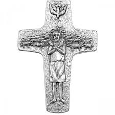 papal crucifix pope francis papal cross leaflet missal