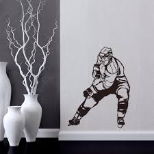 aliexpress com buy ice hockey figure vinyl wall decal boys room aliexpress com buy ice hockey figure vinyl wall decal boys room decor sports diy art mural wallpaper removable wall stickers from reliable wall sticker