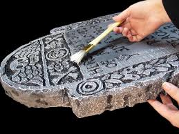 Halloween Prop Making by Making Tombstones For Halloween Halloween Prop Making Cement