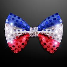 light up bow tie amazon com red white blue led light up flashing bow tie toys games