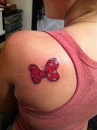 bow tattoo designs on shoulder creativefan