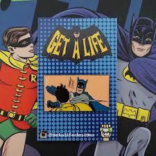 Batman And Robin Slap Meme - bat slap retro batman robin meme enamel pin batman robin meme