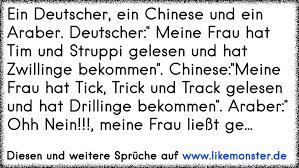 arabische sprüche ein deutscher ein und ein araber deutscher meine frau