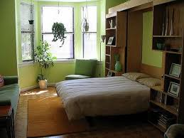apartment modern apartment with white modern pull down bed and