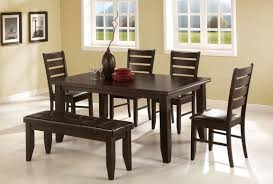 leather bench seat for dining table home design ideas