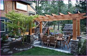 Ideas For Landscaping Backyard On A Budget Stunning Patio Landscaping Ideas On A Budget Backyard Corner