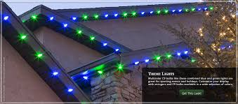 theme lighting outdoor christmas lights ideas for the roof