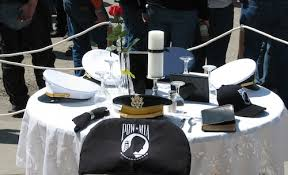 Fallen Comrade Table by Air Force Removes Pow Mia U0027missing Man U0027 Table Because It Includes