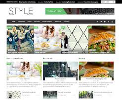 free magazine blogger template download free responsive template sale style for magazine blogger