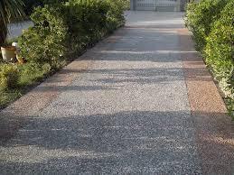 vialetti in ghiaia pavimento in rivestimenti di ghiaia per spazio pubblico