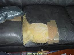 comment réparer un canapé en cuir déchiré au dessus réparer canapé sky déchiré artsvette