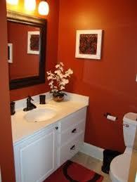orange bathroom ideas orange bathrooms