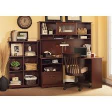 cherry desk with hutch harvest cherry corner desk with hutch and bookcase cabot rc