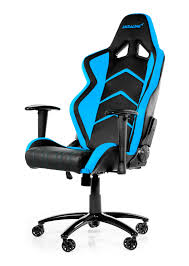 best gaming desk chairs akracing player gaming chair black blue wrgamers akracing