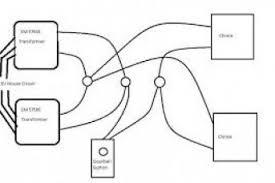 wiring diagram for two doorbells wiring diagram