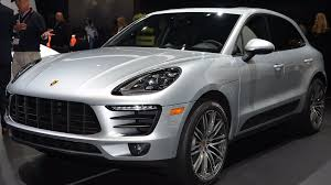 porsche macan 2016 blue porsche macan brings four cylinders to the big apple