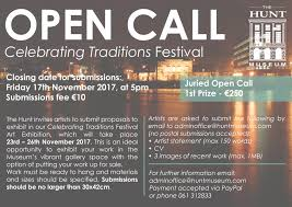 open call celebrating traditions the hunt museum