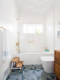tiles in bathroom ideas guest bathroom reveal emily henderson