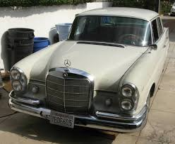 nice heckeflosse driver 1963 mercedes benz 220s 4 speed bring a
