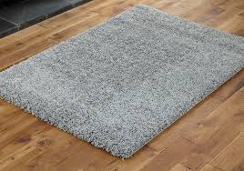 Shaggy Grey Rug New Extra Large Thick 5cm Deep Pile Silver Grey Modern Shaggy Rugs