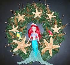 christmas wreath using brass key porcelain dolls the enchanted manor
