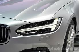 volvo v90 thor s hammer headl at 2016 geneva motor show indian