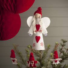 angel christmas tree topper nordic angel tree topper by the christmas home