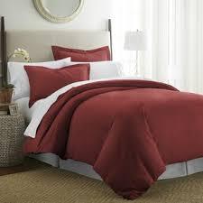 red bedroom sets red bedding sets you ll love wayfair