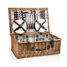 picnic basket for 4 newbury picnic basket for 4 wedding gift yogipicnicbaskets
