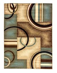 Blue Contemporary Rugs Blue And Brown Rugs Safavieh Modern Art Blue Brown Rug U0026 Reviews
