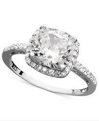 cushion ring giani bernini sterling silver ring cubic zirconia cushion cut