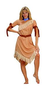 pocahontas costume rg costumes women s pocahontas brown one size clothing