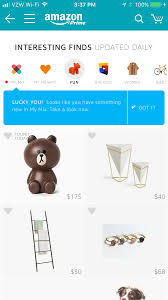 interesting finds amazon how amazon s answer to the pinterest instagram wish approach to