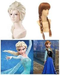 anna from frozen hairstyle new frozen elsa anna hair wig braid costume for kids adult girl