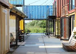 startup village julius taminiau architects shipping container