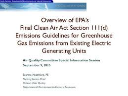 Council On Environmental Quality Guidelines Clean Power Plan Before The Virginia Energy Efficiency