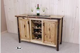 rustic wine cabinets furniture amish made adirondack wine racks and cabinets new york