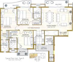 mall of the emirates floor plan ats pristine in sector 150 noida price location map floor