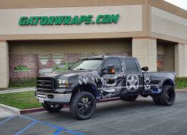 Ford F 150 Camo Truck Wraps - truck wraps orange ca wraps for cars gatorwraps