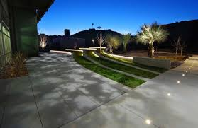 Vista Landscape Lighting Landscape Playa Vista Ca Oculus Light Studio
