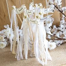 wedding wands wands hochzeit weiß