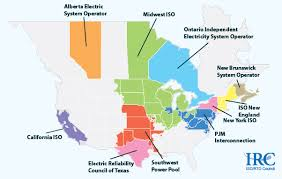 iso map about 60 of the u s electric power supply is managed by rtos