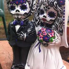 day of the dead cake toppers shop dead wedding on wanelo