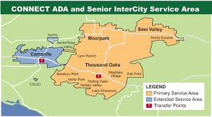 Simi Valley Map Ecta Intercity Dial A Ride Thousand Oaks Ca
